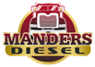 MANDERS DIESEL REPAIR, INC. Logo