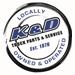 K & D TRUCK PARTS Logo