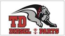 TD DIESEL & PARTS Logo