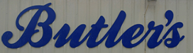 BUTLER'S TRUCK SALVAGE Logo